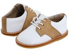 1930s Childrens Fashion: Girls, Boys, Toddler, Baby Costumes Elephantito - Golfers Toddler WhiteIvory Boys Shoes $59.50 AT vintagedancer.com