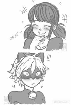 Marichat<<<<< AKA the moment chat realized he was screwed