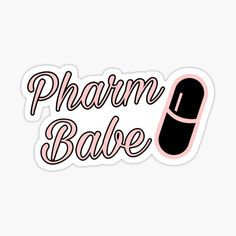 Pharmacy stickers featuring millions of original designs created by independent artists. Pharmacy Technician Study, Pharmacy Student, Pharmacy School, Pharmacy Design, Pharmacy Quotes, Pharmacy Humor, World Pharmacist Day, High School Quotes, College Dorm Decorations
