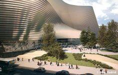 Nuevo estadio del Real Madrid en 2017