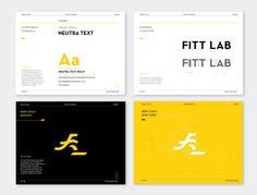 Fitt Lab Branding by Andy Lim