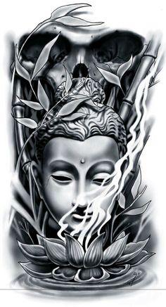 50 Brilliant Buddha Tattoos And Ideas With Meaning best buddha tattoo d.- 50 Brilliant Buddha Tattoos And Ideas With Meaning best buddha tattoo designs ideas men women Buddha Tattoo Design, Buddha Tattoos, Buddha Lotus Tattoo, Lotus Tattoo Men, Lotus Flower Tattoos, Tattoos Arm Mann, Body Art Tattoos, Tattoo Drawings, Sleeve Tattoos