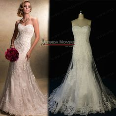 Find More Wedding Dresses Information about Strapless New Arrivals Designer Wedding Dresses Lace Appliques 100% Actual Photos NS206,High Quality dress wedding lace,China dress shoe laces Suppliers, Cheap dress women from Novias Wedding Dress Factory on Aliexpress.com