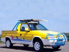 Photos of Škoda Pick-up Fun Prototype (Type 1992 Bugatti, Lamborghini, Porsche, Audi, Volkswagen, Pick Up 4x4, Vw Amarok, Cars And Motorcycles, Automobile