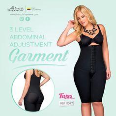 3b7f4a5d8 3 levels of Tummy adjustability with our Fajas Dprada garments. Post Partum  Girdle