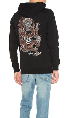 Shop for Stussy Fire Dragon Zip Up in Black at REVOLVE. Free 2-3 day shipping and returns, 30 day price match guarantee.