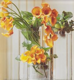 Jeff Leatham is well known for creating the stunning Calla arrangements