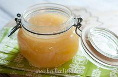 Perenjam met gember en vanille - Keuken♥Liefde