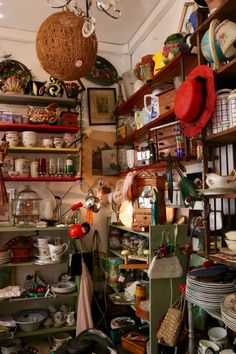 Paris' Mid-Century Vintage Village - In the heart of the 11th arrondissement, the Oberkampf district has its own mini Paris flea market, a petite shopping village of mid-century design, decorative arts and vintage lighting waiting behind weathered façades of the neighbourhood's old ateliers.