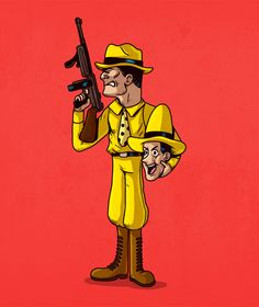 Man in the Yellow Hat / Dick Tracey