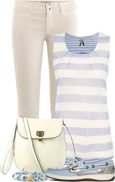 """""""Pale Blue, Oat, and Ivory"""" by stylesdice on Polyvore"""