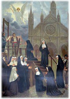 Santos, Beatos, Veneráveis e Servos de Deus: Beata Maria Rosa (Suzanne Aghate Deloye) e Companh...