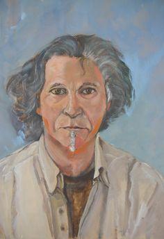 zelfportret acryl op doek 2013 José González