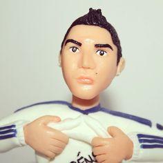 Cristiano Ronaldo cake topper
