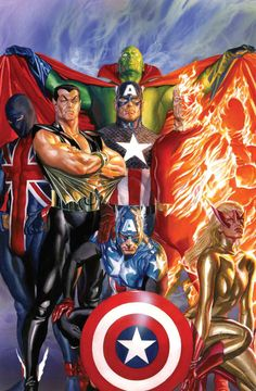 AICN COMICS Q&@: superhero talks with artist Alex Ross about THE DYNAMITE ART OF ALEX ROSS! - Ain't It Cool News: The best in movie, TV, DVD, and comic book news.