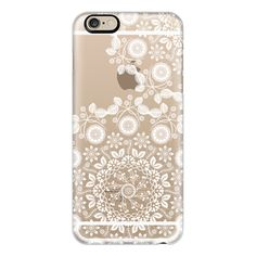 iPhone 6 Plus/6/5/5s/5c Case - Hippie Boho Lace Mandala ($40) ❤ liked on Polyvore featuring accessories, tech accessories, iphone case, iphone 6 case, apple iphone cases, iphone 5 cover case and iphone cases