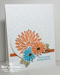 Special Reason, Stylish Stems, Stampin Up, flowers, simple