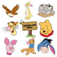 Disney® Pooh and Friends - Kids - Everyday - Cartridges & Images Cute Disney Wallpaper, Wallpaper Iphone Cute, Cartoon Wallpaper, Cute Wallpapers, Disney Drawings, Cartoon Drawings, Easy Drawings, Disney Cartoon Characters, Disney Cartoons