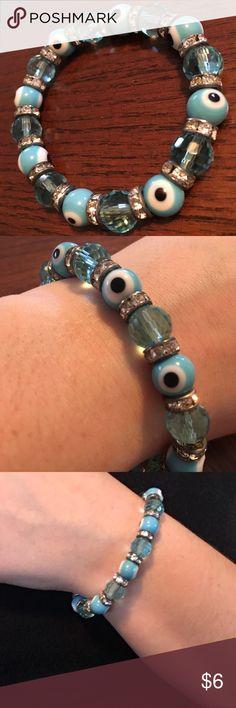 Beautiful beaded bracelet Nice stretchy beaded bracelet. Gorgeous colors - will fit any size wrist! Jewelry Bracelets