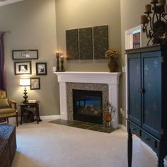 1000 Images About Livingroom New House On Pinterest Stacked Stone Fireplaces Balanced Beige