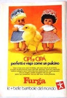 1971 Pubblicità Advertising Cipi' e Cipa'