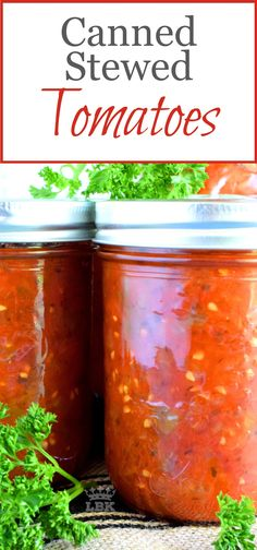 Canned Stewed Tomatoes - A great base to any pasta sauce soup or stew; Canned Stewed Tomatoes is an inventive way to jazz up baked chicken or broiled seafood! Stewed Tomato Recipes, Canning Stewed Tomatoes, Canning Vegetables, Vegetable Recipes, Canning Tomatoes Water Bath, Canning Recipe For Stewed Tomatoes, Freezing Vegetables, Veggies, Cabbage Recipes