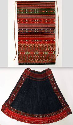 """The Metropolitan Museum of Art. """"Apropos Aprons,"""" June Metropolitan Museum of Art. Folk Costume, Costumes, Young Frankenstein, Historical Costume, Bulgaria, Metropolitan Museum, Fashion History, Traditional Dresses, Creative Photography"""