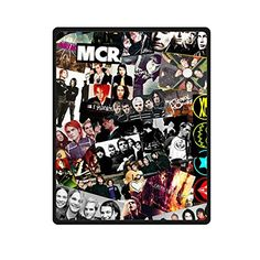 Custom My Chemical Romance Rock Band BedSofa Soft Throw Fleece Blanket 40x50