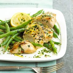 At less than 300 calories, this lemon-zested garlic chicken makes a quick and healthy dinner for busy weeknights.