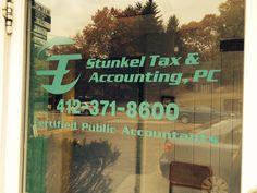 Window #graphics for Stunkel Tax & Accounting.