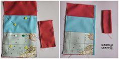Manualicraft - Costura creativa: Funda portadocumentos de viaje. Tutorial Pot Holders, Calla, Tips, Ideas, Scrappy Quilts, Wallets, Tejidos, Bags, Drawn Thread
