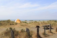 Gold Bluffs Beach Campground offers something unique within Redwood National and…
