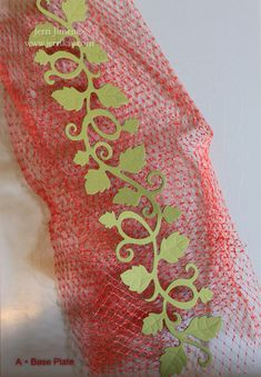 Embossed Leaf Tutorial from A Touch of Grace