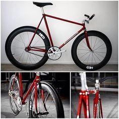 Fixed gear bike Bosomworth Pursuit