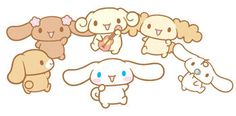 Cinnamoroll  The Gang  #cute #kawaii #cinnamoroll #sanrio