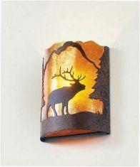 Elk Timber Ridge Wall Sconce