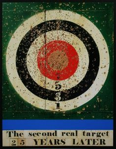 Buy- The Second Real Target 25 Years Later- signed limited edition silkscreen by British Pop Artist Sir Peter Blake from CCA Graphic Design Posters, Graphic Design Illustration, Illustration Art, Peter Blake, Pop Art Movement, Spencer, Silk Screen Printing, Elements Of Art, Paintings For Sale