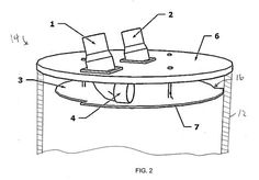 Thein Baffle Patent Drawing and Info - This shows information differently then most websites Diy Router Table, Shop Dust Collection, Patent Drawing, Dust Collector, Woodworking Jigs, Carpentry, Homemade Tools, Wood Tools, Wood Dust