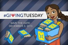 Celebrate #GivingTuesday with Maya!     @charity: water