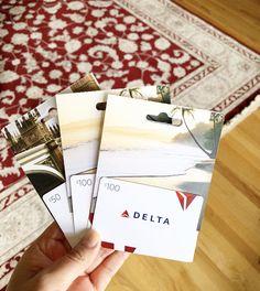 GRATIS $25 en tarjeta de Best Buy con la compra de $250 en tarjeta de Delta GRATIS $25 en tarjeta de Best Buy con la compra de $250 en tarjeta de Delta clic Aquí Me encanta viajar y siempre estoy buscando formas de ahorrar. Esta es una de las ofertas que me encantan y siempre las compro. Para USA Compra [...] Gift Wrapping, Gifts, Saving Tips, Gift Cards, Searching, Money, Traveling, Gift Wrapping Paper, Presents