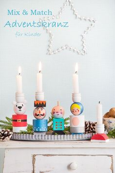 DIY IKEA Hack – a very special Advent wreath for children to design themselves - Upcycled Crafts Christmas Hacks, Noel Christmas, Christmas Wreaths, Christmas Crafts, Christmas Decorations, Holiday Decor, Christmas Design, Hacks Diy, Ikea Hacks