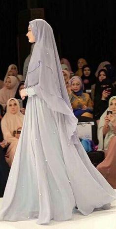Fashion Hijab Remaja Gemuk 45 New Ideas Fat Teen Hijab Fashion 45 New Ideas Hijab Outfit, Hijab Gown, Hijab Style Dress, Girl Hijab, Hijab Chic, Muslimah Wedding Dress, Muslim Wedding Dresses, Muslim Dress, Wedding Abaya