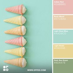 Pastels Color Palette - Trend Topic For You 2020 Summer Color Palettes, Color Schemes Colour Palettes, Summer Colors, Pastel Colour Palette, Colour Pallette, Spring Color Palette, Soft Colors, Pastel Colors, Colours