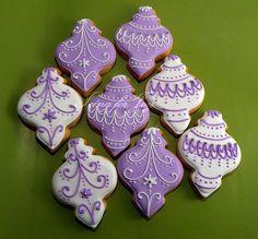Christmas Ornaments Cookies: