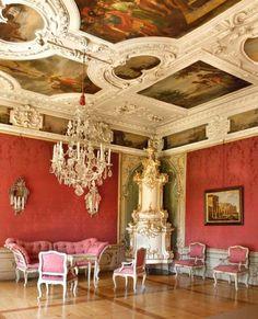 Römisches Zimmer #Baroque decor in Eggenberg Castle - Graz, Austria