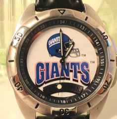 NY Giants Fossil Watch - working - gently used  $99.99