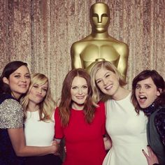Here's What Happens When Reese Witherspoon Rallies with Her Fellow Best Actress Oscar Nominees #InStyle