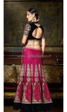 #Designer #Lehenga Nazriya Rose #SoExclusive 180€ taille 34 à 44 #Sari #Robe #Indienne #Mariage #Wedding