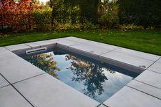 @wat Meersalzwasser-Tauchbecken / Minipool | homify Mini Pool, Sauna, Home And Garden, Outdoor Decor, Home Decor, Libros, Pictures, Plunge Pool, Pool Ideas