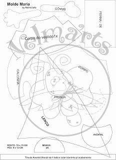 Creaciones Naxi: Moldes de fofuchas
